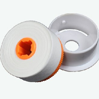 CLETOP Reel Connector Cleaner Replacement Tape - White - 14 Meters